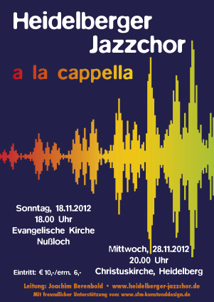 Heidelberger Jazzchor November 2012